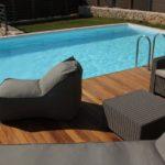 Dynasty villas Iroko deck pool 3