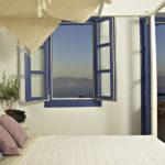 Ξενοδοχείο Σαντορίνη μπλε λάκα